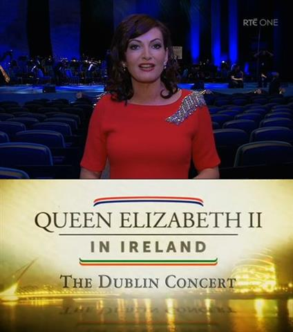 Maura Derrane RTE1 presenting the Queens Concert may 2011 (Small)